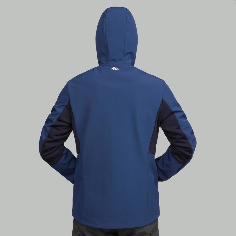 de076e60ea5f6 Homme Quechua Montagne Bleu Windwarm Trekking Softshell Trek900 Veste RFqpCB
