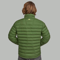 Doudoune randonnée montagne RANDO 500 Duvet homme vert