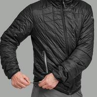 Trek 100 Men's Padded Hiking Jacket - Black