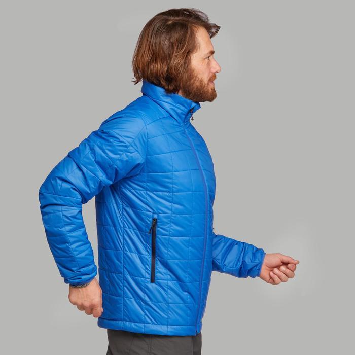 Doudoune de trek montagne - TREK 100 bleu homme