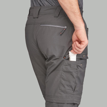Trek 100 Mountain Trekking Convertible Pants - Men