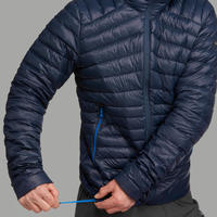 Doudoune randonnée montagne Rando 100 duvet homme bleu marine