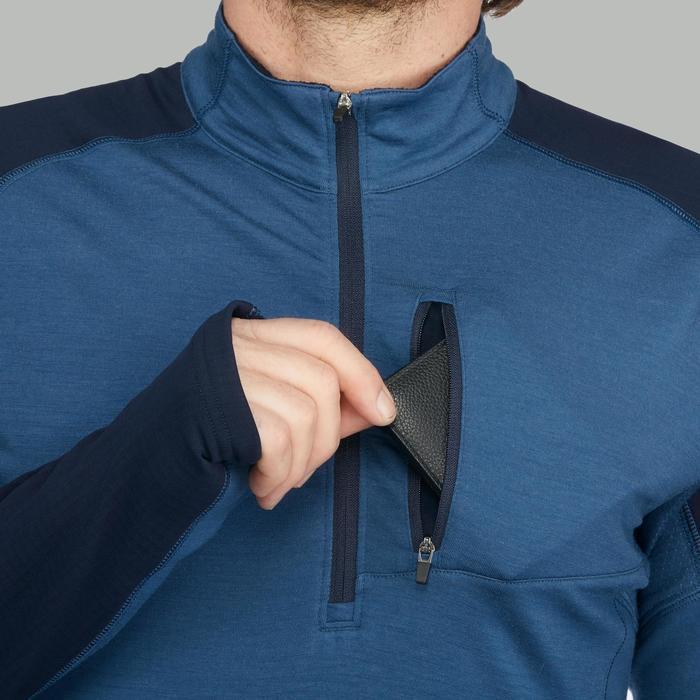 T-shirt manches longues trekking montagne TREK 900 wool homme - 1518665
