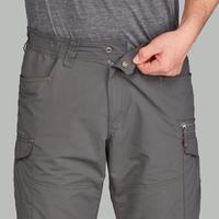 Men's Mountain Trekking Modular Trousers - TREK100 - Dark Grey