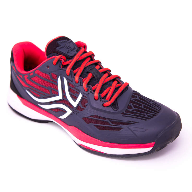 PADEL SHOES Other Racket Sports - PS 990 Shoes - Pink/Black ARTENGO - Other Racket Sports