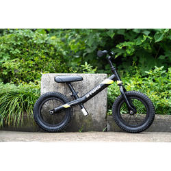 Run Ride 900 12-Inch Kids' Balance Bike - Black