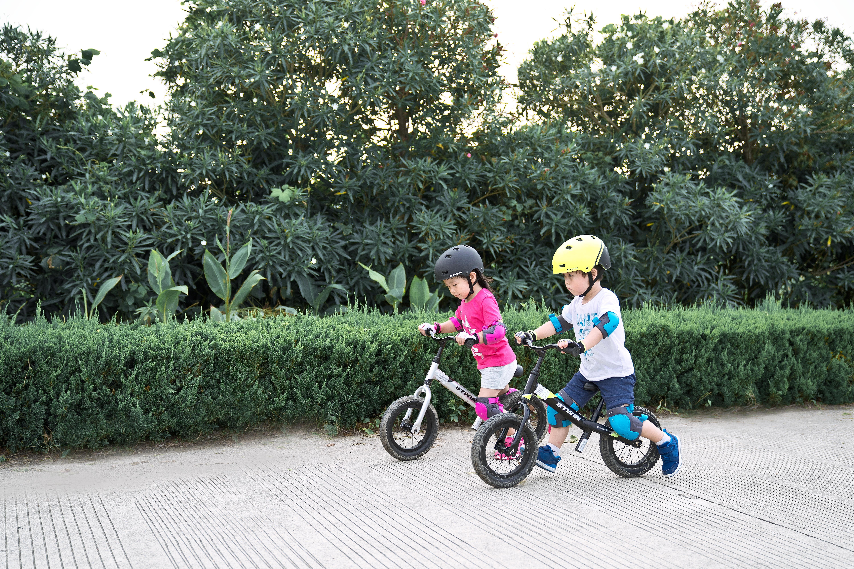 How to ride a balance bike?