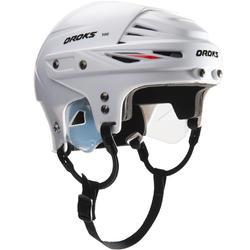 Eishockey-Helm IH 500 Erw weiß