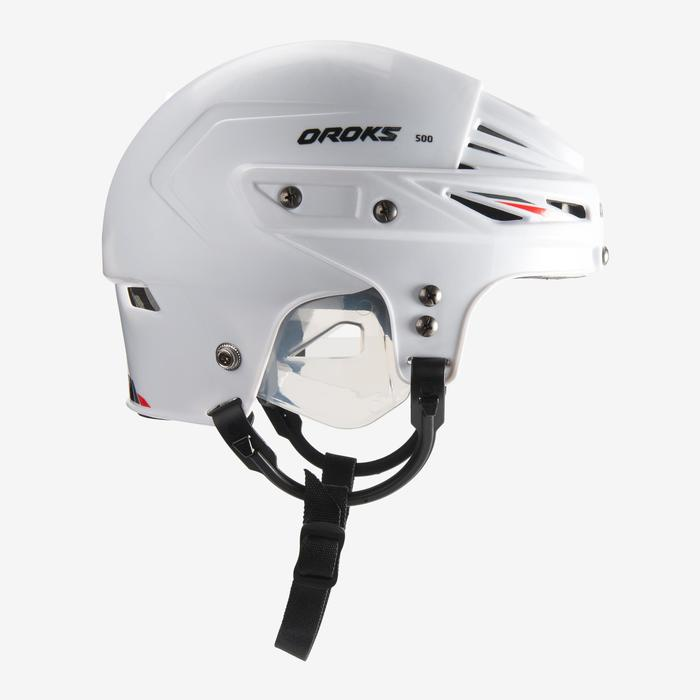 CASQUE HOCKEY IH 500 SR BLANC