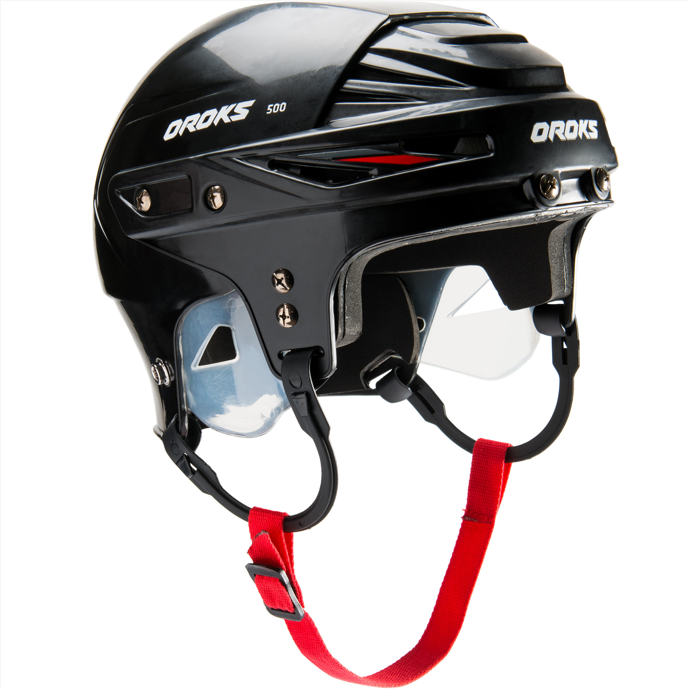 HH 500 SR Hockey Helmet - Black