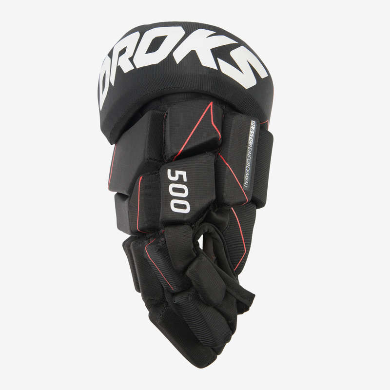 ICE HOCKEY EQUIPMENT CLUB SENIOR Imbracaminte - Mănuși Hochei IH 500 Seniori OROKS - Accesorii