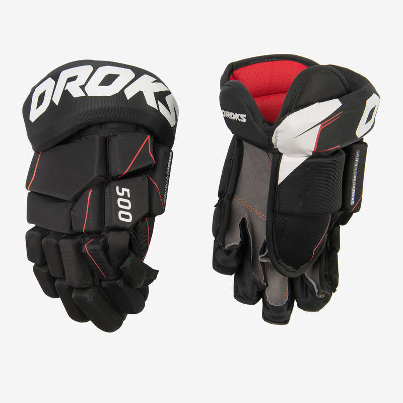 ATTREZZATURA HOCKEY CLUB JR Monopattini, Roller, Skate - Guanti hockey IH 500 OROKS - Accessori giocatore
