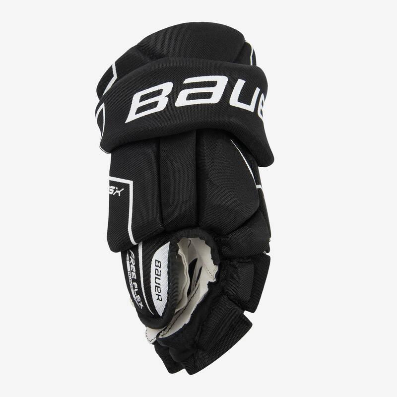 DĚTSKÉ VYBAVENÍ NA HOKEJ Kolečkové, inline bruslení - HOKEJOVÉ RUKAVICE NSX S18 BAUER - Inline hokej