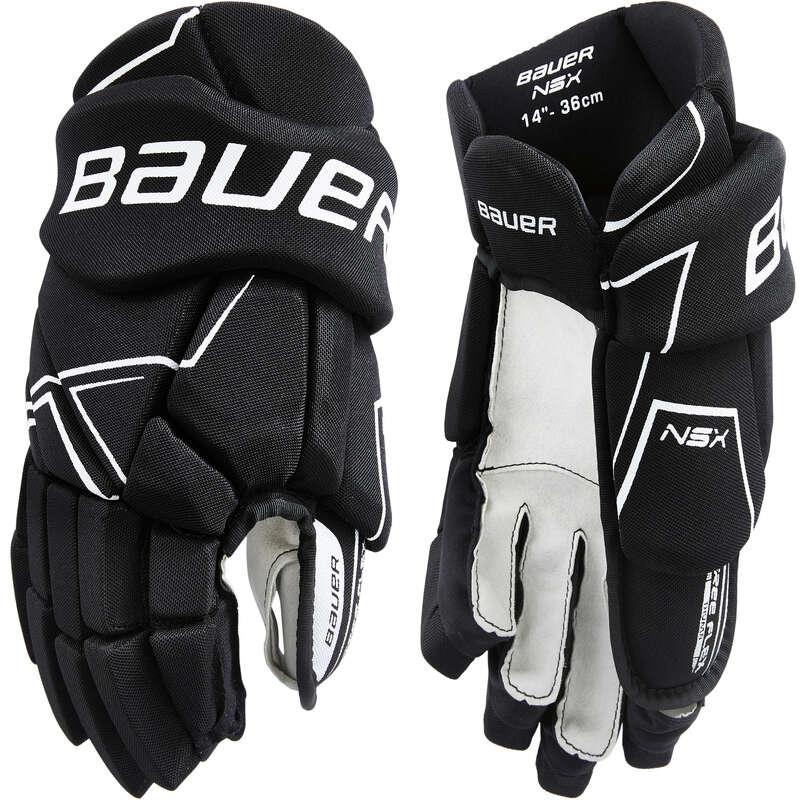 ICE HOCKEY EQUIPMENT CLUB SENIOR Roller Hockey - NSX S18 SR Hockey Gloves BAUER - Roller Hockey