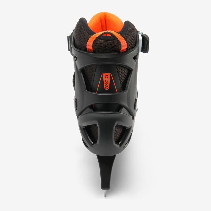Schaatsen FIT 100 zwart oranje