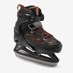 FIT100 Ice Skates - Black/Orange