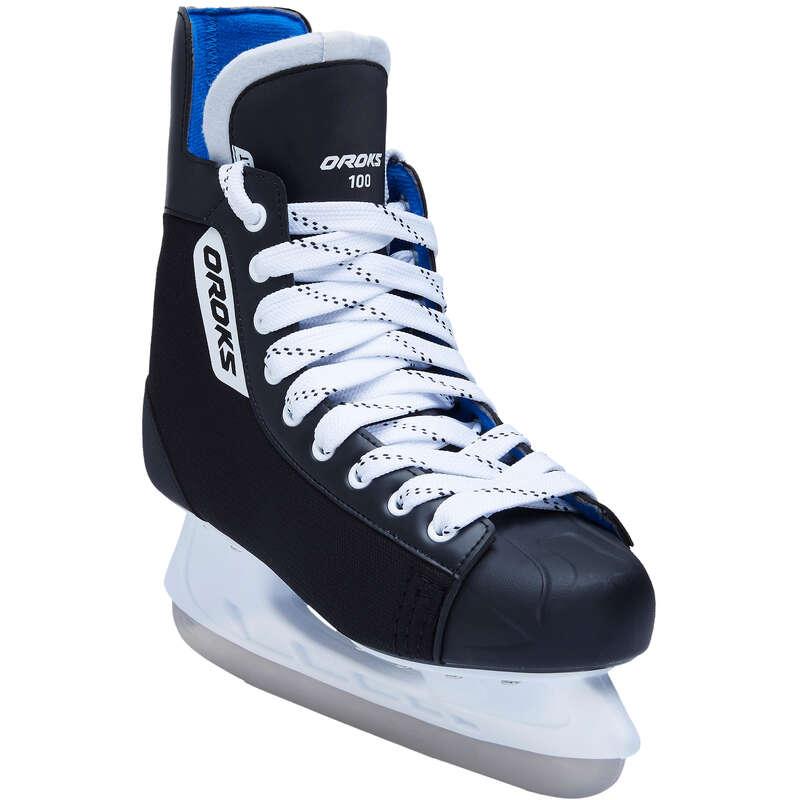 FREE HOCKEY ICE SKATES Ice hockey - IH 100 Adult Hockey Skates OROKS - Ice hockey