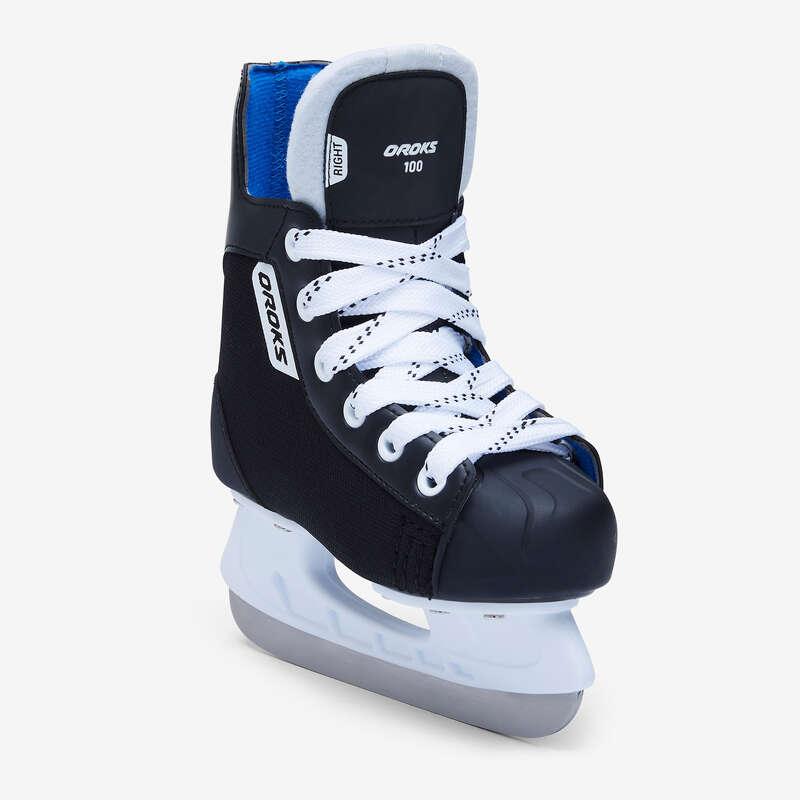 FREE HOCKEY ICE SKATES Lagsport - Hockeyrör IH 100 JR OROKS - Ishockey - Junior