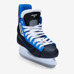 Patines Hockey sobre Hielo Oxelo IHS 140 Adulto Negro y Azul