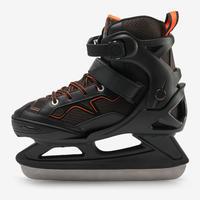 FIT100 Ice Skates - Black/Orange