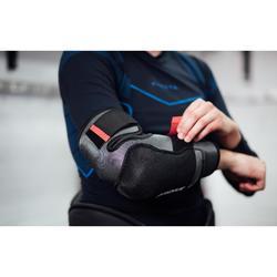 Elleboogbeschermers voor hockey HEP 500 volwassenen