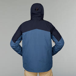 Veste VOYAGE 500 3-en-1 homme bleue