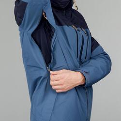 Veste TRAVEL500 3en1 homme bleu