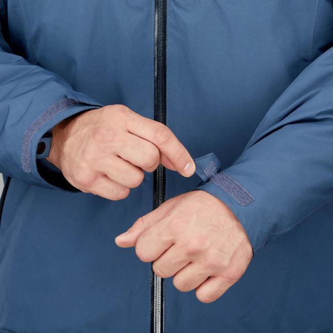 M Travel Trekking 3-in-1 Wtpf Jacket - Temp Rating -10°C - Travel 500 - blue