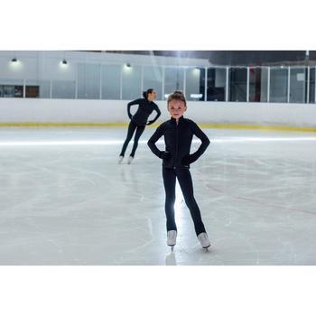 Trainingshose Eiskunstlauf Kinder schwarz