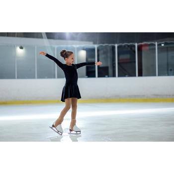 Tunika Trainingskleid Eiskunstlauf Kinder schwarz