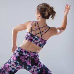 Sujetador-top de tirantes finos danza mujer estampado