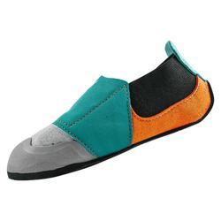 Klimschoenen voor kinderen Rock grijs oranje