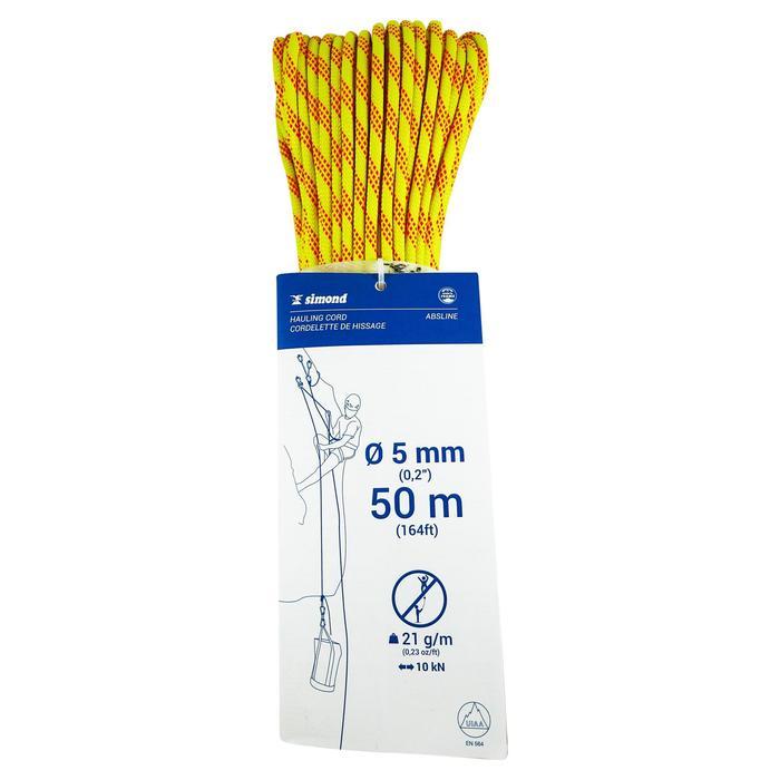 Statisch hulptouw ABSLINE 5 mm x 50 m