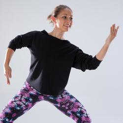 Sweat de danse capuche femme noir