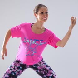 Kort dans T-shirt voor dames