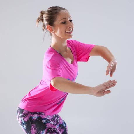 fc27d307c1 Női rövid póló tánchoz, rózsaszín | Domyos by Decathlon