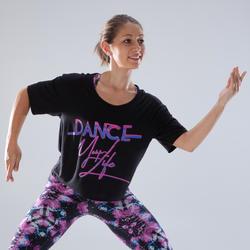 Women's Short Dance T-Shirt - Black