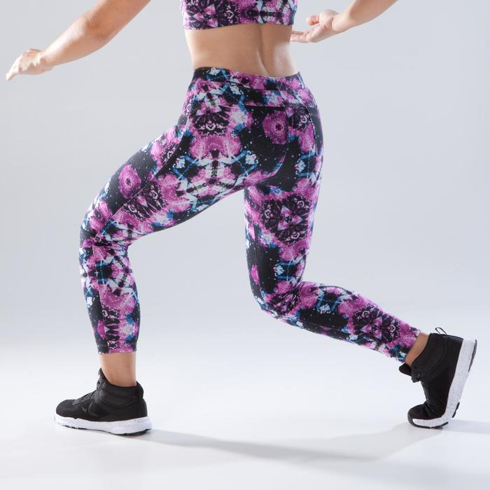 Dameslegging voor dans-workouts print