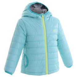 兒童款健行鋪棉外套MH─藍綠色