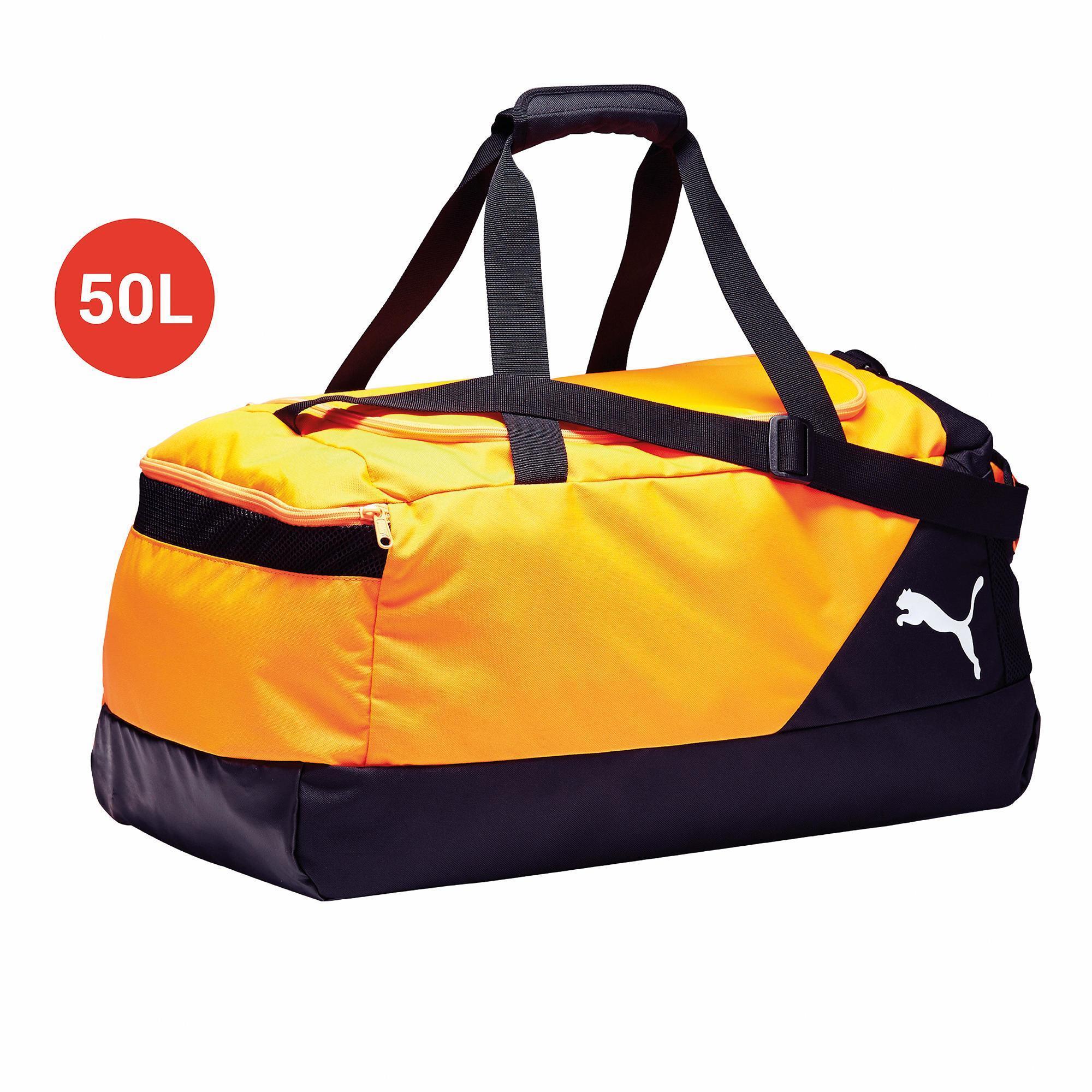Puma Voetbaltas-Sporttas Protrain Medium bag 50 liter geel
