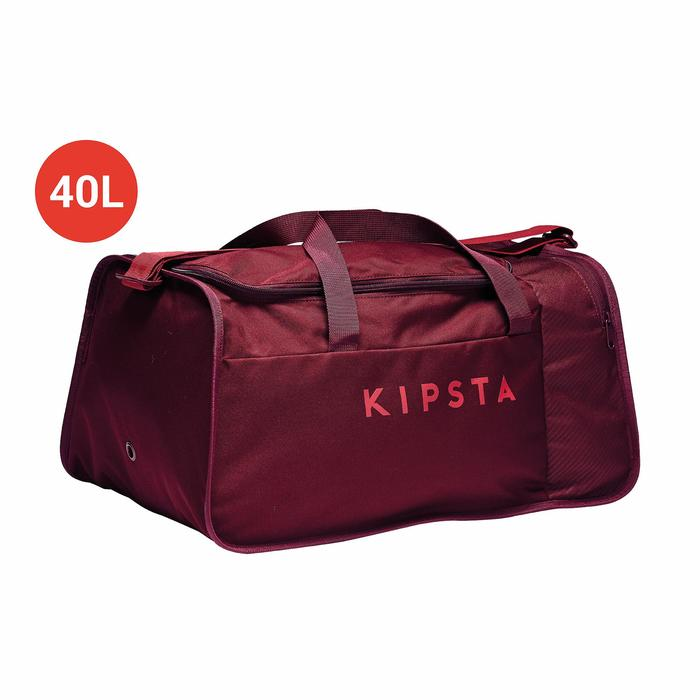 Sporttasche Kipocket 40L hellrot/dunkelrot