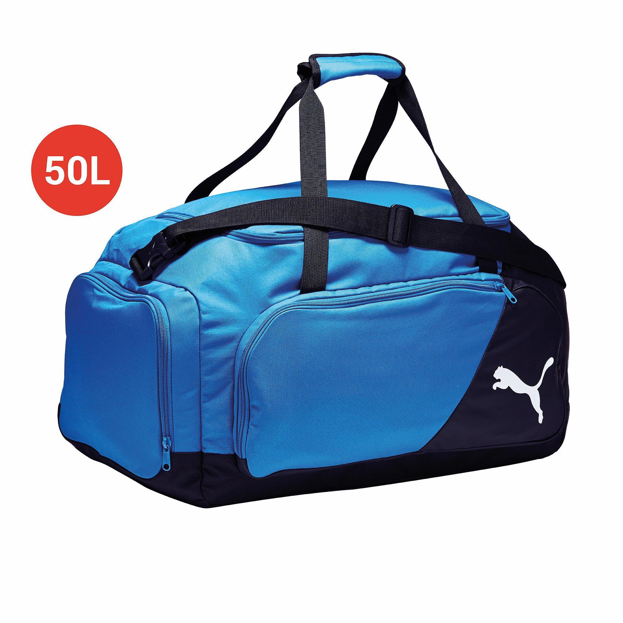 Puma Voetbaltas-sporttas Liga Medium bag 50 liter blauw