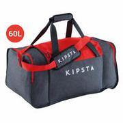 Siva in rdeča športna torba KIPOCKET (60 l)