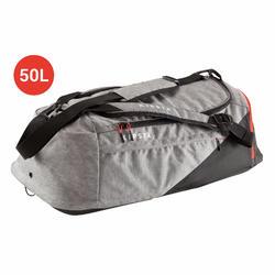 Football Kitbag Away 50 Litre - Light Grey/Red
