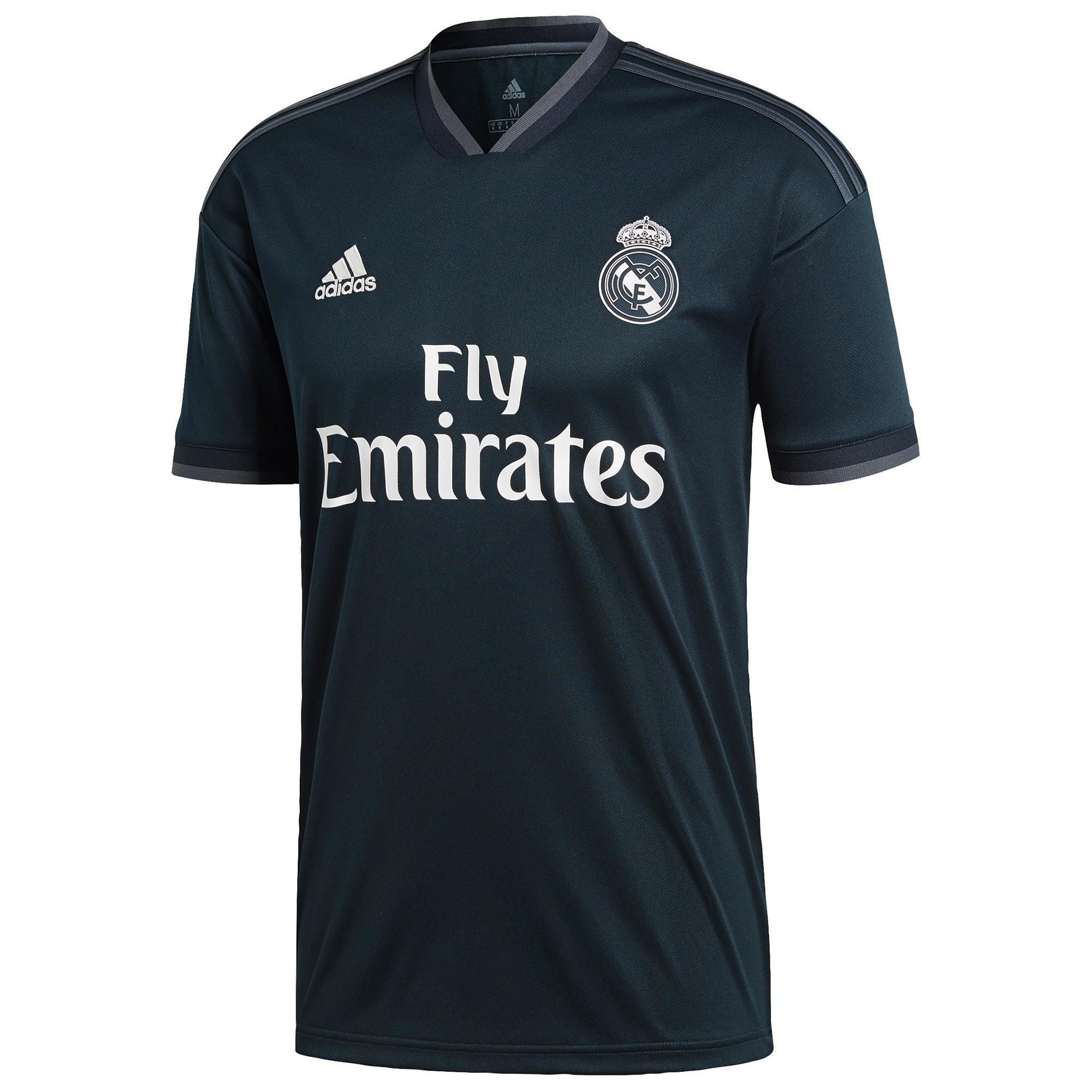 4b314df68dfa2 Camiseta de Fútbol Adidas oficial Real Madrid C.F. 2ª equipación niños 2018  2019