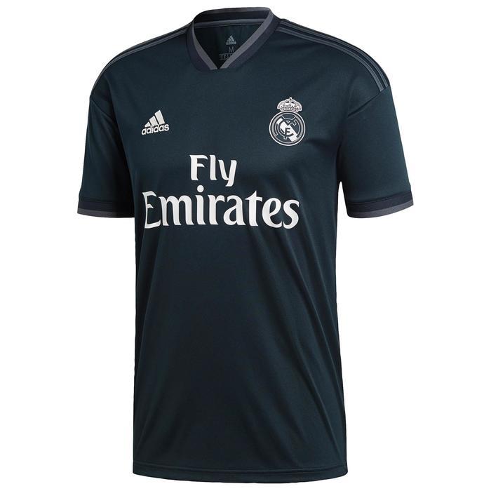 Maillot football enfant Real Madrid extérieur noir 18/19