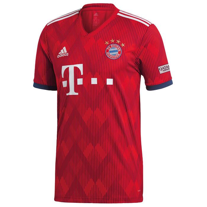 546ab75df Camiseta de Fútbol Adidas oficial Bayern Munich 1ª equipación hombre 2018  2019