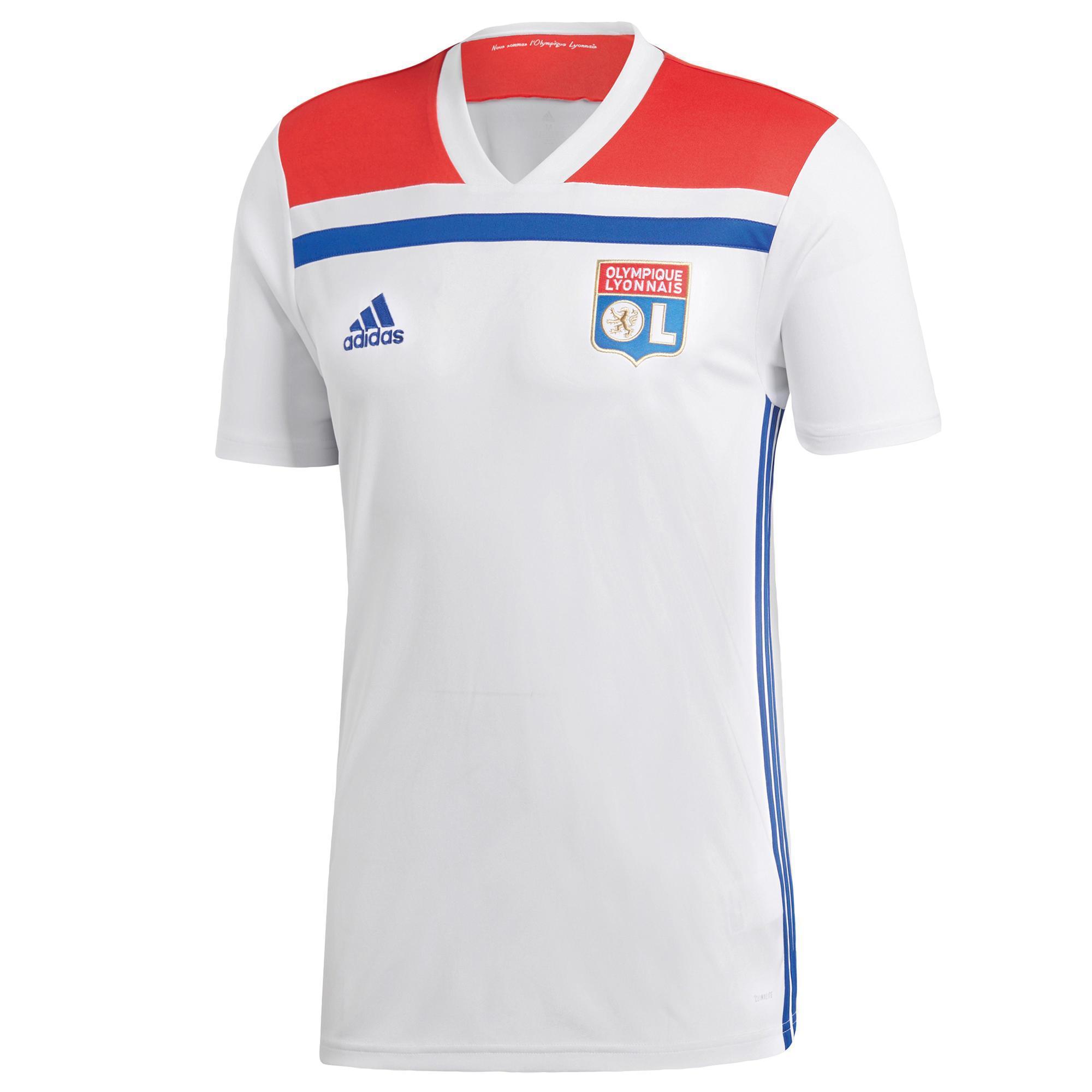 adidas Olympique Lyonnais Extérieur Replica Maillot de Football Homme Vêtements