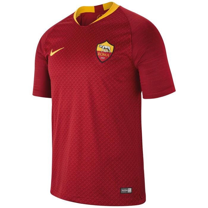 Camiseta fútbol réplica niños AS Roma rojo