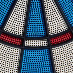 Dartscheibe ED 310 Softdart elektronisch mit 6 Pfeilen